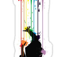 Somewhere Over the Rainbow - Someone's Getting Wet Sticker