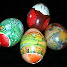 Hand-Painted Eggs by Susan Russell