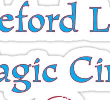 Castleford Ladies Magic Circle Sticker