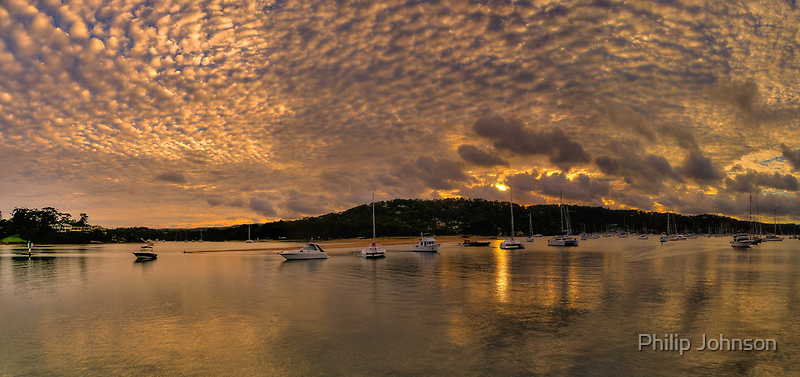 The WOW Factor (Panoramic) - Newport,Sydney - the HDR Experience by Philip Johnson