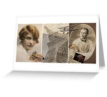 I will return my love.... Greeting Card