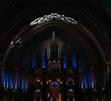 Illumination Basilica Notre Dame Montreal by TFreestyle