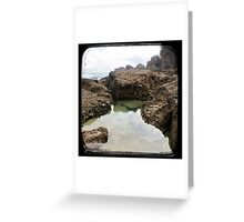 Rockpool - Through The Viewfinder (TTV) Greeting Card