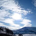 Cloudscape over the hills by Braedene