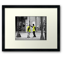 If you have an itch..............Take That!!! Framed Print