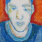J.S. in Pastel by Christopher Clark