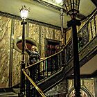 On the Staircase by David Bradbury
