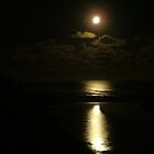 Moonlight at Johanna Beach by Jason Kiely
