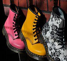 Shoe Store by Wanda Dumas