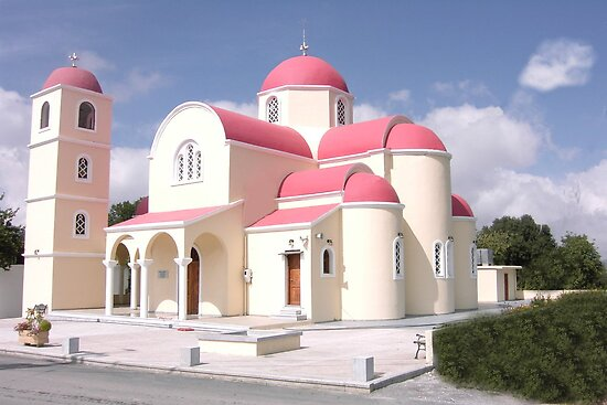 Greek Church  Crete by mikequigley
