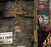 Chalk Farm Road - Camden Town, London by Nick Bland