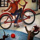 THE RED BIKE by Redlady