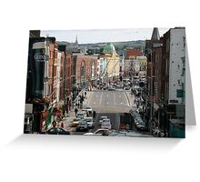 fair city of Cork on lee side Greeting Card