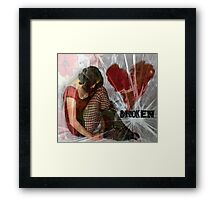 it's not just that it ended, it's that it was so easy for you to let me go Framed Print