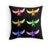 Angel Pride II Throw Pillow