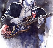 Stevie Ray Vaughan 1 by Yuriy Shevchuk