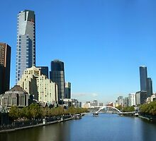 Melbourne Along The Yara by Neil Mouat
