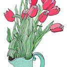 Springtime Tulips by James Lewis Hamilton