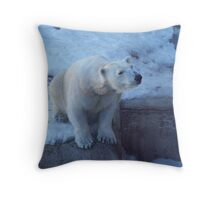 Waiting for Lunch Impatiently... Throw Pillow