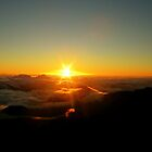 Sunrise At Haleakala by Sean Jansen