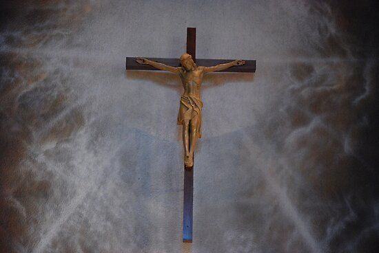 Crucifix... by Carol Clifford