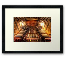 St Paul's Cathedral • Melbourne • Australia Framed Print
