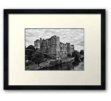 Newark Castle. Framed Print