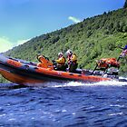 Man Over Board (MOB) Drill on Loch Ness by Loch Ness Lifeboat Crew