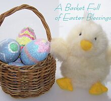 A Basket Full of Easter Blessings by © Betty E Duncan ~ Blue Mountain Blessings Photography