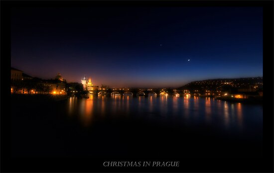 Night time in Prague by capturedjourney
