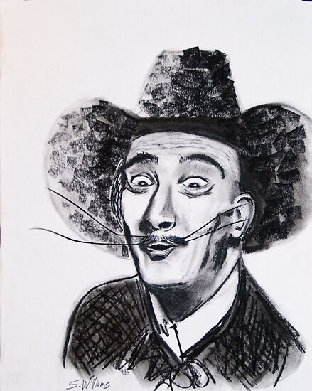 Cowboy Dali by Sonny  Williams