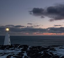Sunrise at Cape Spear by Daphne Johnson