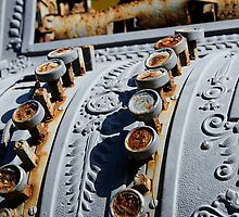 Detail of Cash Register Artwork, Callejon de Hamel,  Havana, Cuba by buttonpresser