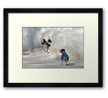 When I Say Jump!!! Framed Print