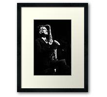 Jazz in the veins Framed Print