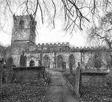 All Saints Church Sketch by Andy Smith