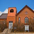 St Paul's Methodist Episcopal Church, Philipsburg Montana by Bryan D. Spellman