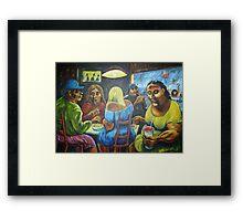 The Potato Eaters Framed Print