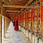 At the Prayer Wheels by StefanieT