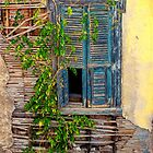 Rustic Window - Samos Island, Greece by StefanieT