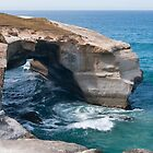 Arch at Tunnel Beach by fotoWerner