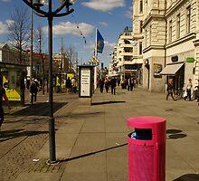 Pink Bin by Sturmlechner