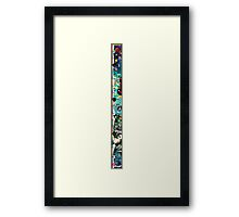 The taller you grow, the more friends you have Framed Print
