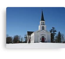 St. James Meeting House Canvas Print
