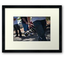 At the Ready Framed Print