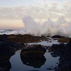and the waves go BOOM! by Allan  Erickson