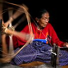 Spinning Cotton by RONI PHOTOGRAPHY