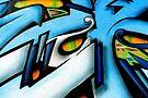 Abstract of street art by buttonpresser