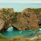 Rocks at Lulworth Cove, Dorset, UK by MichelleRees