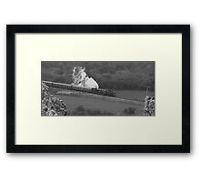 Swanage Steam Train Railway Framed Print